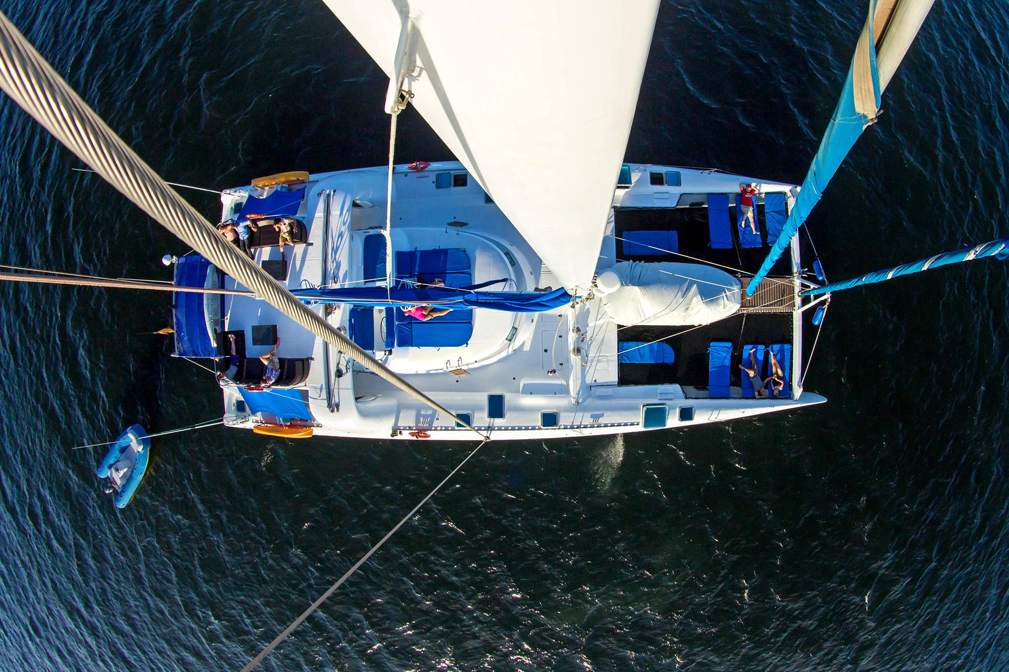 rent catamaran Galapagos Islands